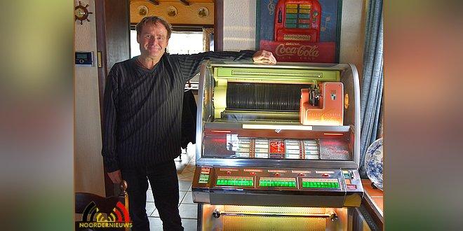 De hobby van Guy Hurts - Jukeboxen - (c) Noordernieuws.be