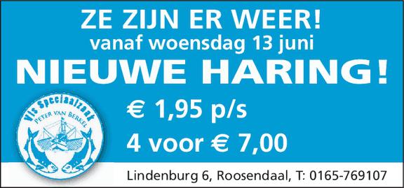 Nieuwe Haring aan oude prijzen - Visspeciaalzaak Peter van Berkerl - (c) Noordernieuws.be 2018