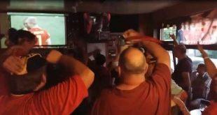 Café Volksvriend puilde uit tijdens wedstrijd Brazilië-België