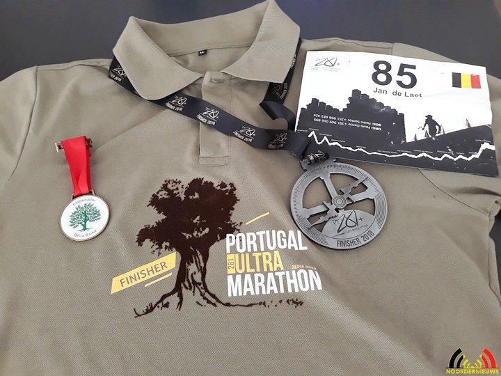 Jan De Laet - PT281 2018 - Shirt, rugnummer en medailles