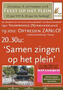 Affiche VVV De Tasberg viert feest!