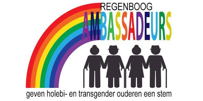 Regenboogambassadeurs voor holebi- en transgenderouderen