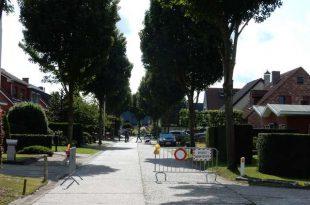 Deel Voorspoedstraat afgesloten voor alle verkeer