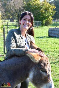 Stephie Dehaeze - Teamleider en begeleider Zorgboerderij Rommeshoef