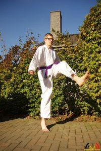De hobby van Jochem Broos - karate