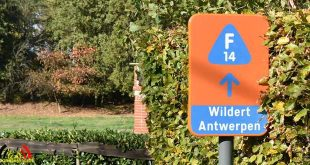Fietsostrade bord F14 - (c) Noordernieuws.be - HDB_0275