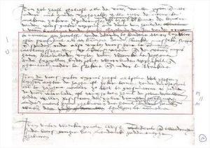 Oost-Vlaamse tekst uit de 16de eeuw