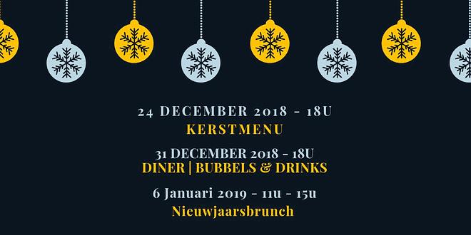 t Graan kerstdiner - new years eve - nieuwjaarsbrunch