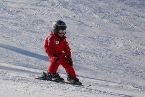 Niels De Brauwer op de skihelling