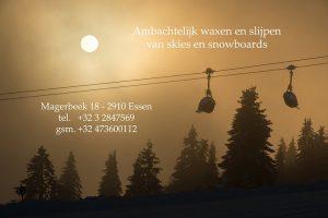 De BRauwer - Ambachtelijk waxen en slijpen van skies en snowboards - Essen