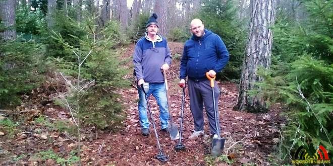 Luc en Bart Bove - Metaaldetector - metaaldetectoristen