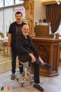 Patrick Heijen en Rudi - Kapper Essen