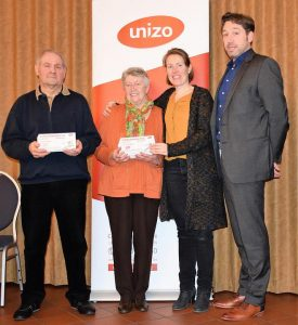 1e prijs - mevr De Laet - Unizo Eindejaarswedstrijd