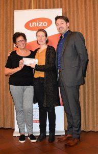 2e prijs: Diana Anthonissen - Unizo Eindejaarswedstrijd - winnaars