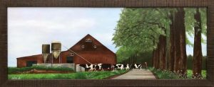 Chantal Bogers - Schilderij - Naar Huis