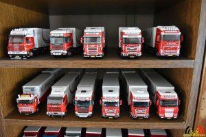 Dirk Gabriëls - verzamelaar vrachtwagens trucks - miniaturen verzameling