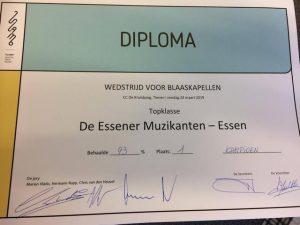 Essener Muzikanten Belgisch Kampioen!4