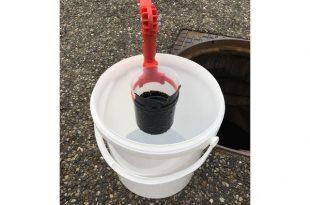 Onderzoek naar olielozing in riool