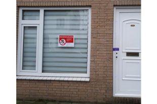 Woning per direct gesloten vanwege drugslaboratorium
