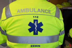 Ambulance Essen - Blauw - Ambulancier - HDB_3089s85