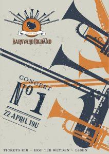 Barnyard Bigband - Optreden Hof Ter Weyden Essen Wildert - I - Noordernieuws.be