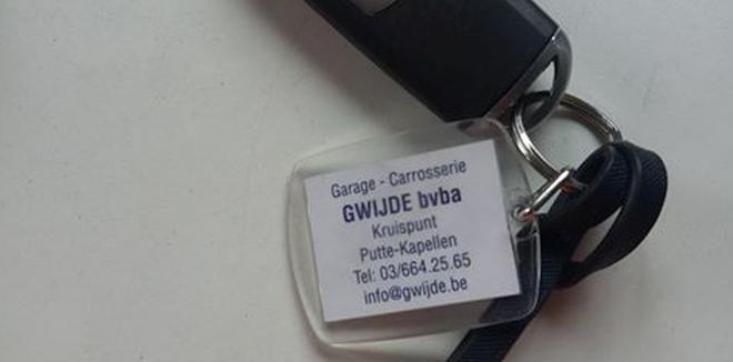 Is deze sleutel van u?