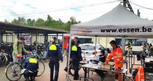 Laat (gratis) je fiets markeren aan stations Essen en Wildert