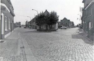 Rechts de Melkerijstraat ©Heemkundige Kring Essen