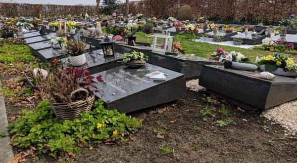 Werken begraafplaats Gooreind