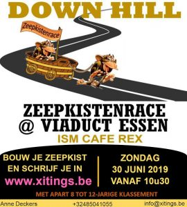 Xitings Zeepkistenrace Essen 2019 - affiche - Noordernieuws.be