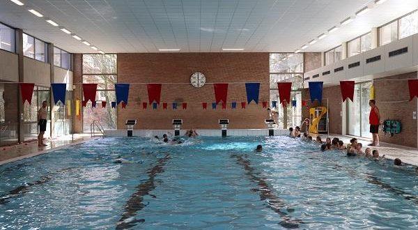 Zwembad gesloten op maandag 15 april
