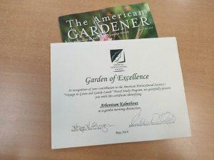 Internationale erkenning voor Arboretum Kalmthout.affiche2