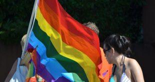 Regenboogvlag wappert ook in Kalmthout