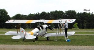 Spectaculaire vliegshow tijdens Antwerp Stampe Fly In