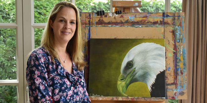 De Hobby van Chantal Durham-Bogers - Schilderen - (c) Noordernieuws.be HDB_6818