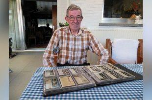 De bijzondere hobby van Hubert Speek - bidprentjes, doodsprentjes, ansichtkaarten en wandelen