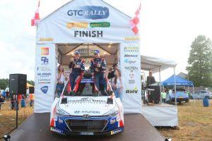 Bob de Jong glorieus winnaar GTC Rally
