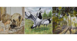 Expositie Essense Kunstvriendenkring - (c) Noordernieuws.be 2019 - 8006-7991-7989