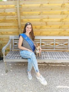 Jill Seghers uit Sint-Job-in't-Goor is finaliste Miss Présence 2020