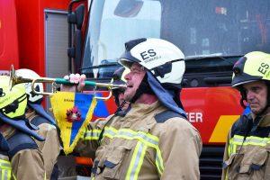 108 Brandweer Essen eert dode en gewonde collega's Beringen - The Last Post - (c) Noordernieuws.be - HDB_7900s