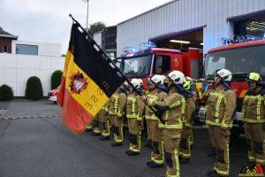 109 Brandweer Essen eert dode en gewonde collega's Beringen - The Last Post - (c) Noordernieuws.be - HDB_7901