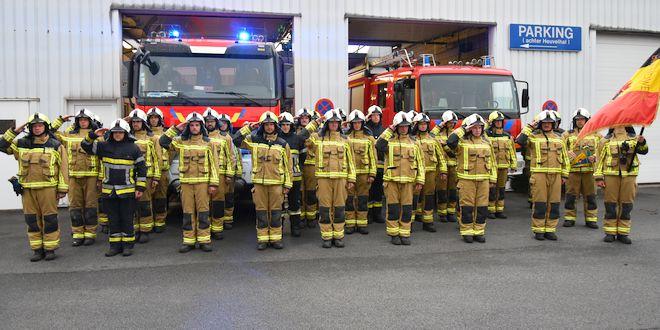 Brandweer Essen eert dode en gewonde collega's Beringen - The Last Post - (c) Noordernieuws.be - HDB_7893u80