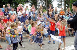 Muzikale afsluiting KinderZomervakantie