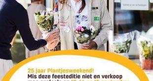 Vrijwilligers gezocht voor Plantjesweekend