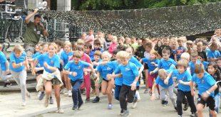 875 sportieve kids leven zich uit op Army-sportdag uitgelicht