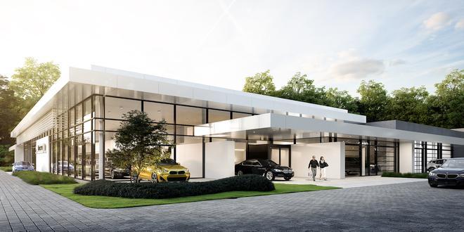 BMW Meeusen Kalmthout nieuw pand