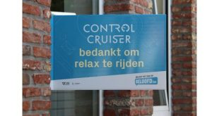 Bedank de 'Control Cruiser'