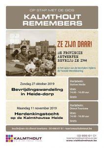 Bevrijdingswandeling in Heide op zondag 27 oktober-