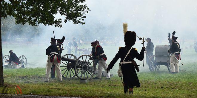 Massale belangstelling voor Slag van Wuustwezel 1814