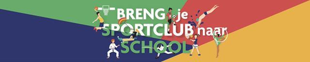 Kom in de outfit van je sportclub naar school!